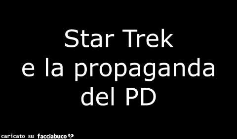Propaganda politica in Star Trek
